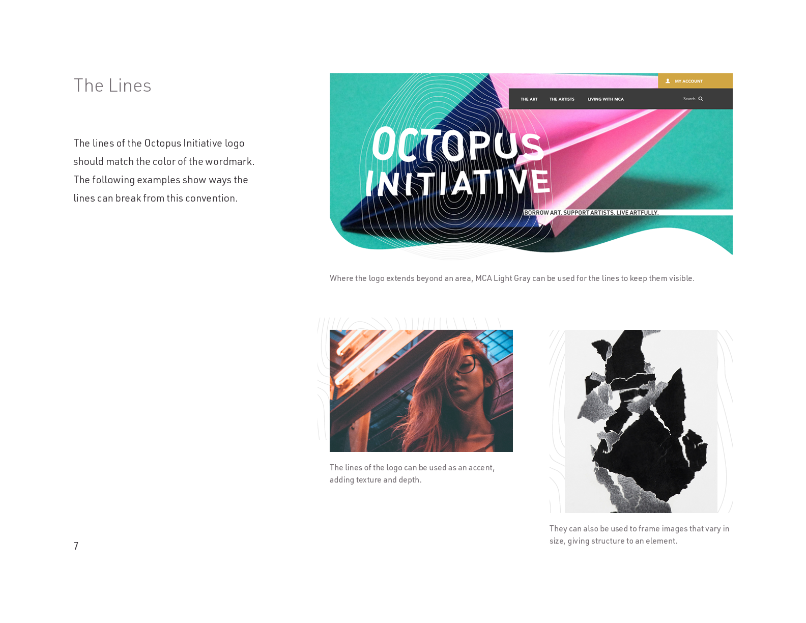 The Octopus Initiative Brand Guidelines - Page 7