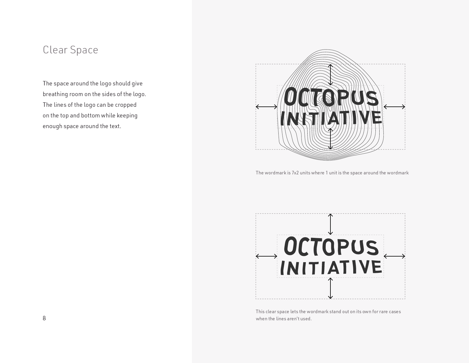 The Octopus Initiative Brand Guidelines - Page 8