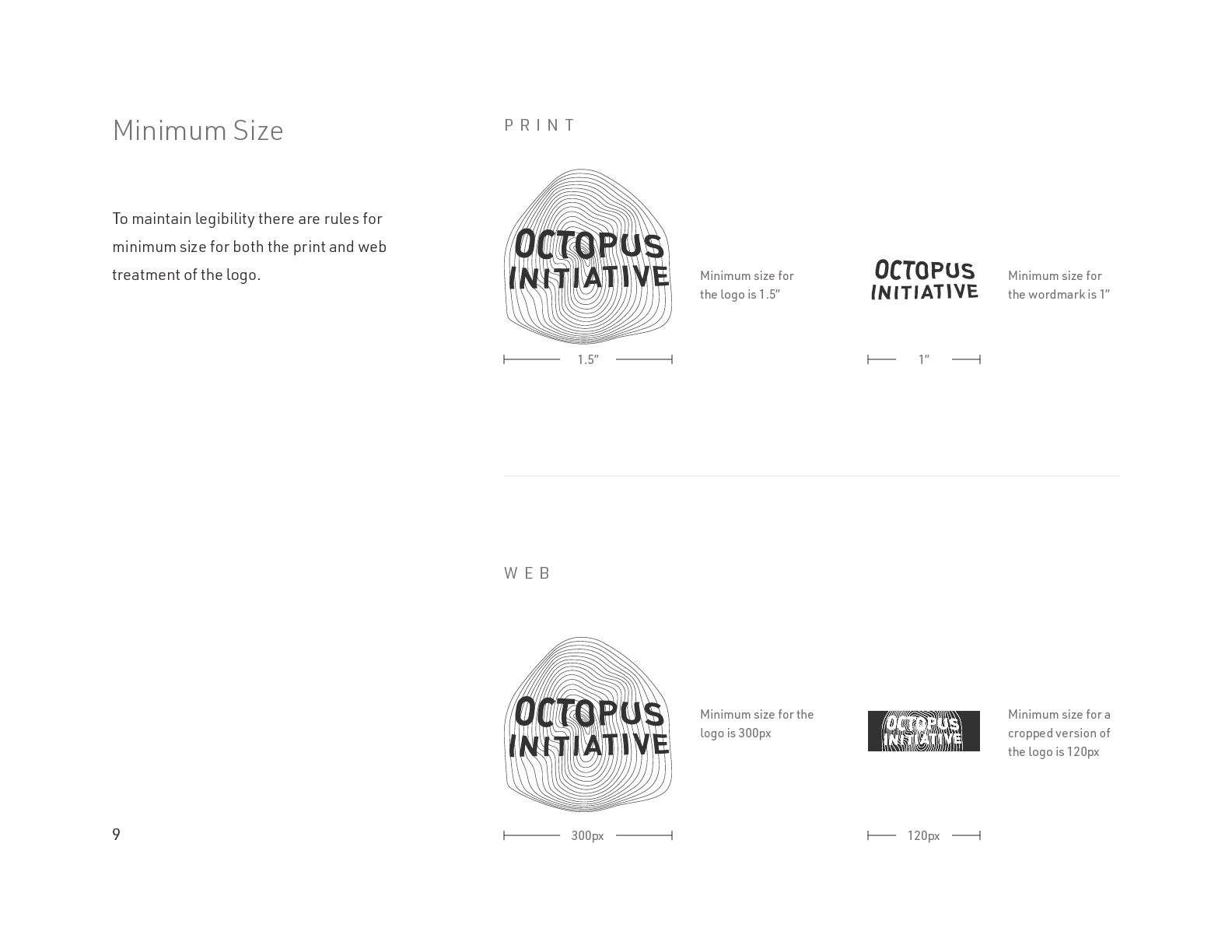 The Octopus Initiative Brand Guidelines - Page 9