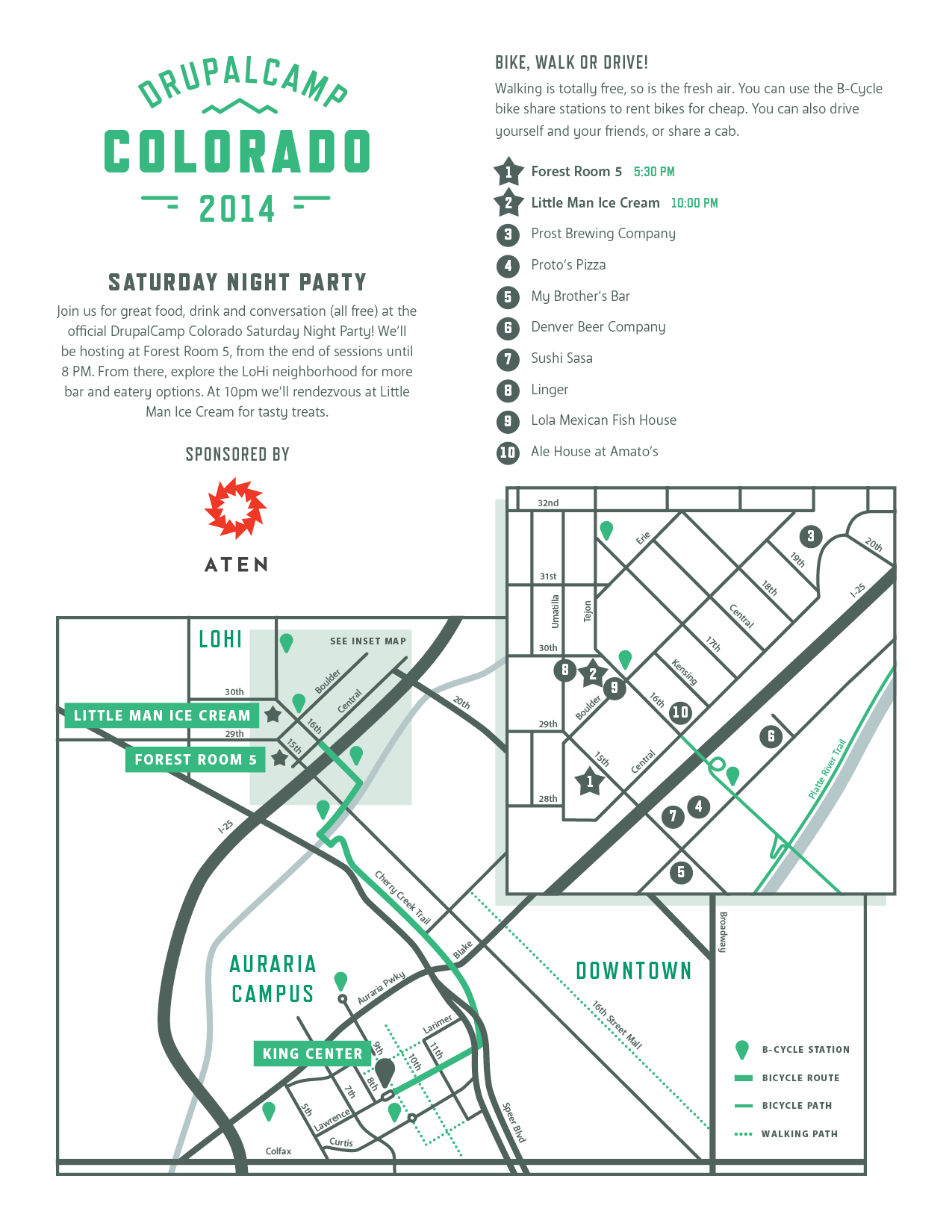 DCCO'14 Saturday Night Party Map