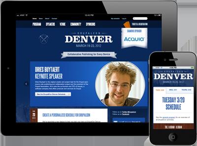 DrupalCon Denver Website